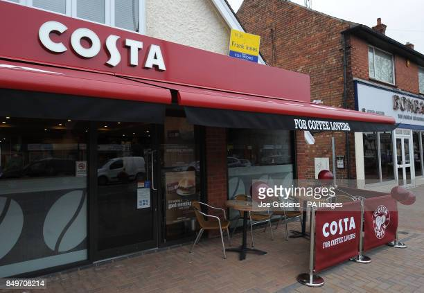 General view of the new Costa coffee shop in Mapperley Nottingham