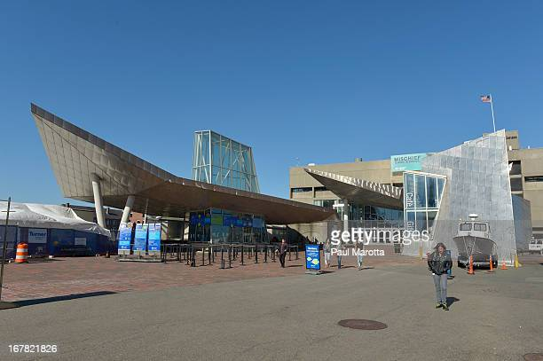 A general view of the New England Aquarium on April 30 2013 in Boston