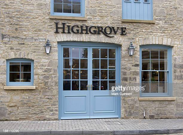 General View Of The New Highgrove Shop In Tetbury Gloucestershire
