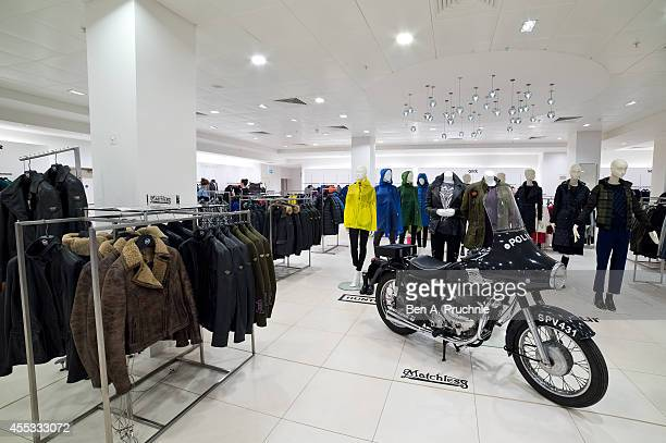 A general view of the new Matchless collection at Fenwick Of Bond Street on September 12 2014 in London England