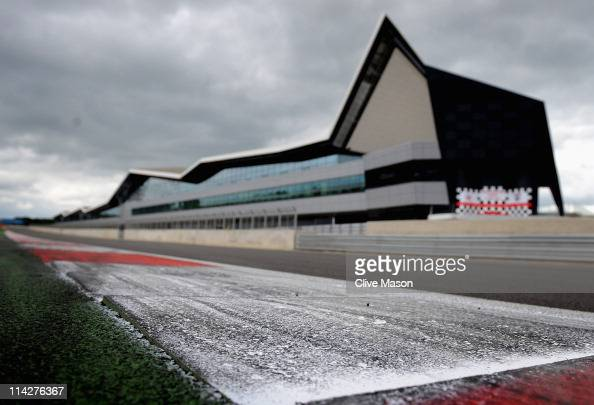 A general view of the new pits and paddock during the opening of the Silverstone Wing at Silverstone Circuit on May 17 2011 in Northampton England