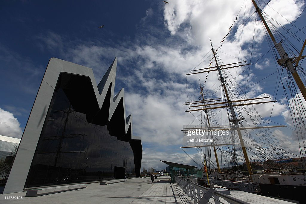 A general view of the new Riverside Museum on June 9, 2011 in Glasgow, Scotland. The £74million Riverside Museum will open to the public on 21 June. The museum has been funded by Glasgow City Council, the Heritage Lottery Fund and the Riverside Museum Appeal.