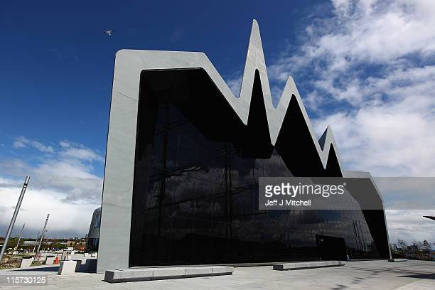 A general view of the new Riverside Museum on June 9 2011 in Glasgow Scotland The £74million Riverside Museum will open to the public on 21 June The...