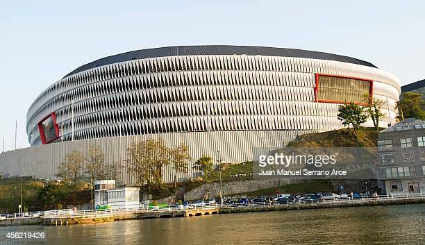 A general view of the new San Mames Stadium on September 27 2014 in Bilbao Spain