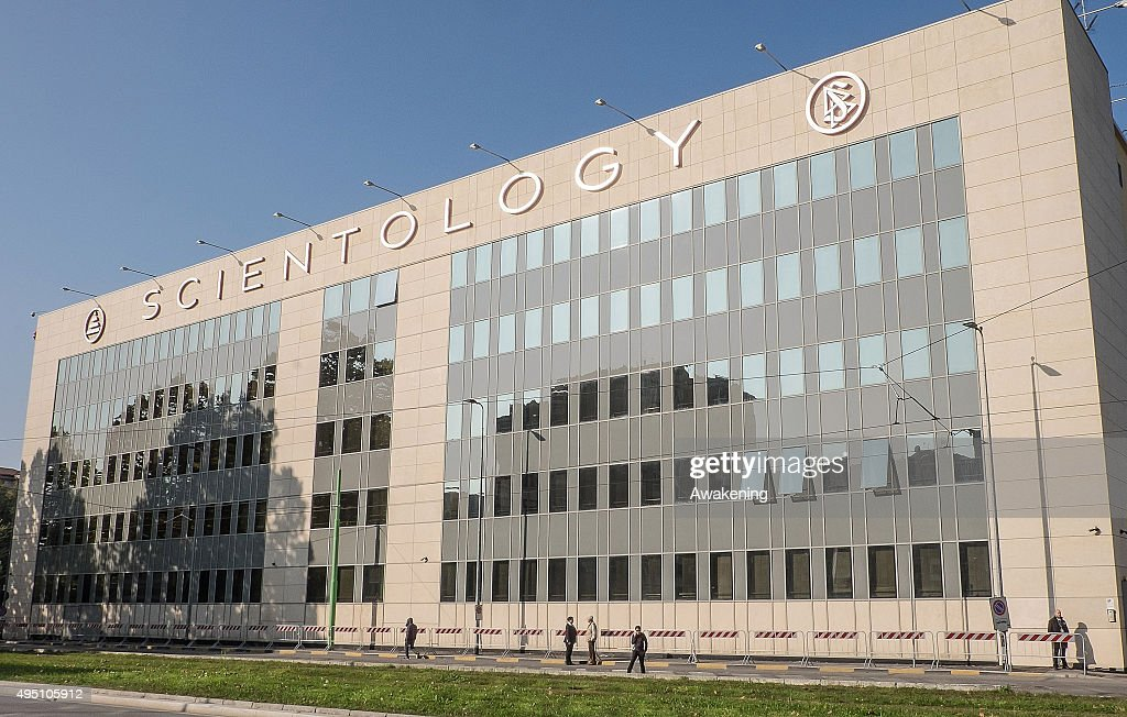 A general view of the new Scientology Church is seen on the opening day on October 31 2015 in Milan Italy The fivestory fourbuilding 258windows...