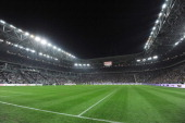 A general view of the new stadium of the FC Juventus ahead of the pre season friendly match between FC Juventus and Notts County on September 8 2011...