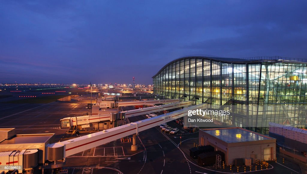 A general view of the new Terminal 5 at Heathrow Airport prior to its official opening on March 14, 2008 in London, England.