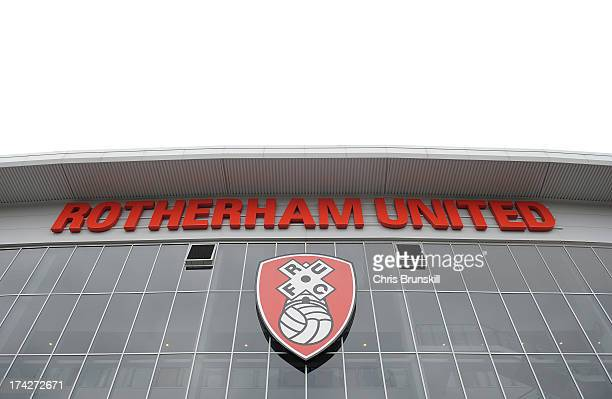 A general view of the New York Stadium following the pre season friendly match between Rotherham United and Huddersfield Town at The New York Stadium...