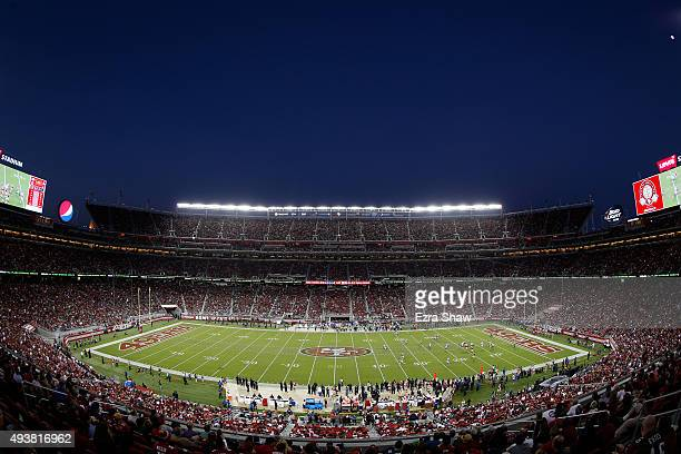 A general view of the NFL game between the San Francisco 49ers and the Seattle Seahawks at Levi's Stadium on October 22 2015 in Santa Clara California