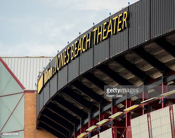 General view of the Nikon at Jones Beach Theater on August 30 2015 in Wantagh New York