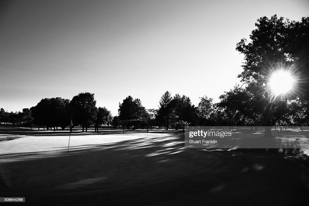 A general view of the nineth hole before the third round of the Tshwane Open at Pretoria Country Club on February 13, 2016 in Pretoria, South Africa.