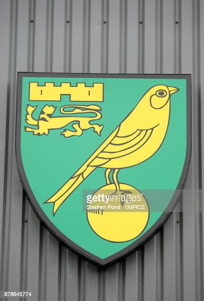 General view of the Norwich City crest