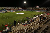 A general view of the Nuevo Colombino stadium prior the UEFA EURO 2016 Qualifier Group C match between Spain and Belarus at Nuevo Colombino studium...