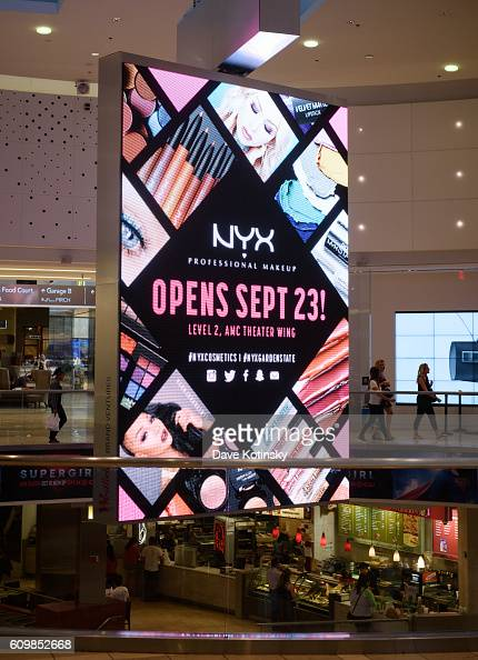 A general view of the NYX Professional Makeup Store Garden State Plaza on September 22 2016 in Paramus New Jersey