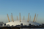 A general view of the O2 Arena which will be used as the venue for the Boxing Fencing Judo Table Tennis Taekwondo Weightlifting Wrestling Boccia...