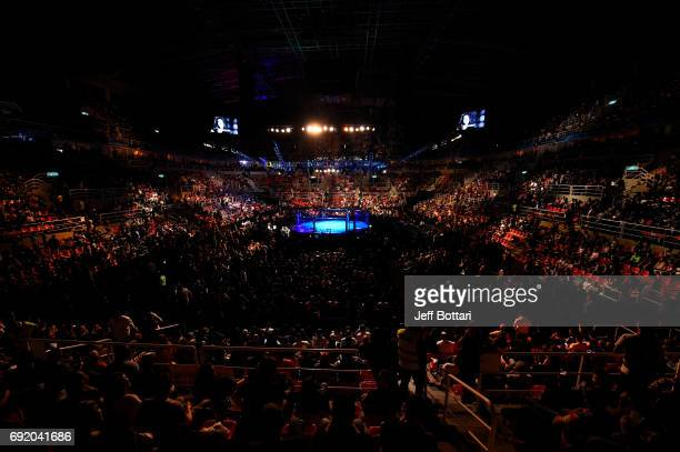 A general view of the Octagon during the UFC 212 event at Jeunesse Arena on June 3 2017 in Rio de Janeiro Brazil