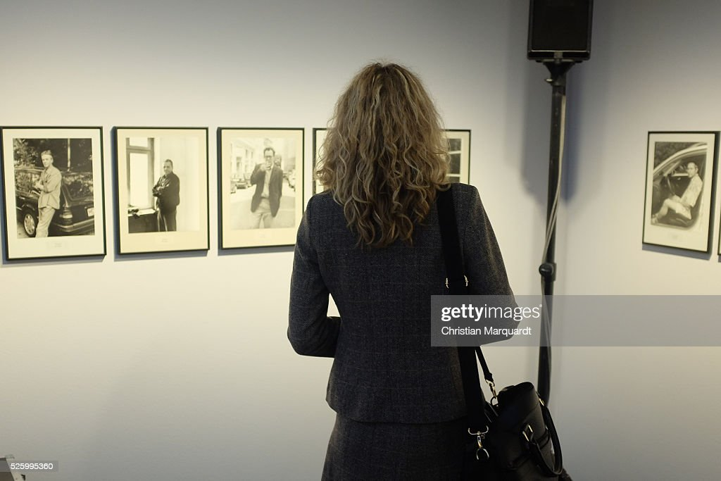 A general view of the of the exhibition 'Hans-Peter Feldmann - retrospective' and 'Talents 37 - Borrowed Light by Bianca Pedrina' at Amerika Haus on April 29, 2016 in Berlin, Germany. On the occasion of the 75th birthday of Hans-Peter Feldmann presents C / O Berlin, a retrospective with about 250 pictures from the late 1960s to the most recent works. The exhibition opens to the public on April 30 and runs until July 10, 2016.