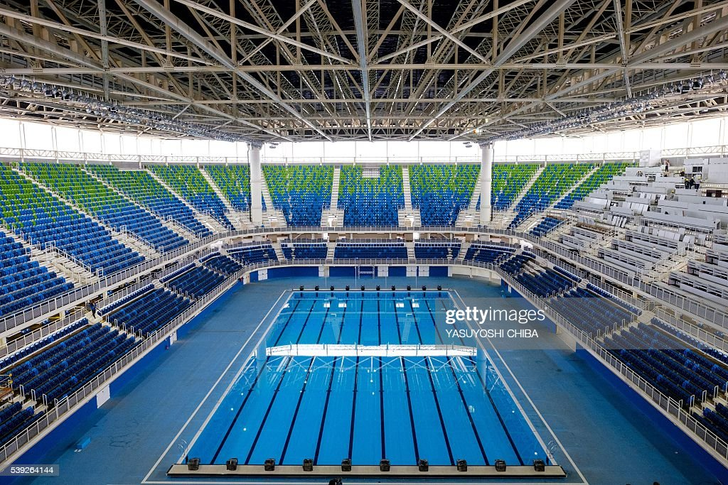 General View Of The Olympic Aquatics Stadium At Park Which Will Host Swimming