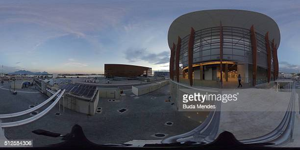 General view of the Olympic Park during the International Wheelchair Rugby Championship Aquece Rio Test Event for the Rio 2016 Paralympics on...