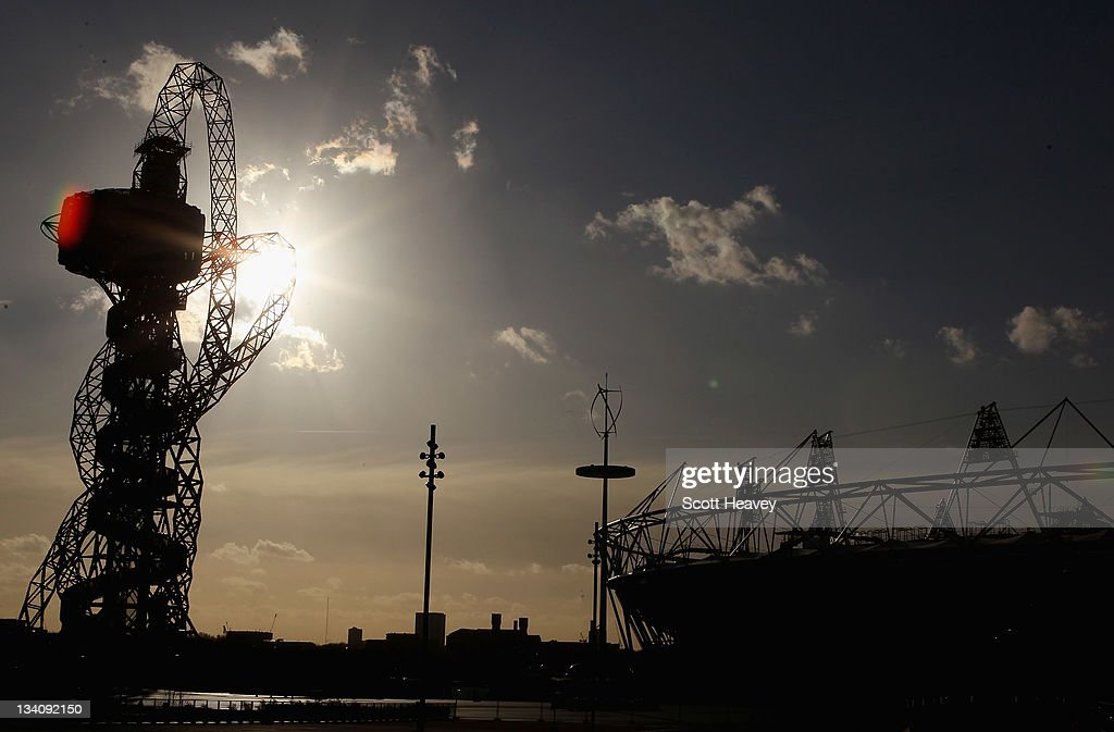 A general view of the Olympic Park on November 25, 2011 in London, England.