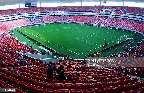 General view of the Omnilife Stadium which will host the FIFA U 17 World Cup on June 3 2011 in Guadalajara Mexico