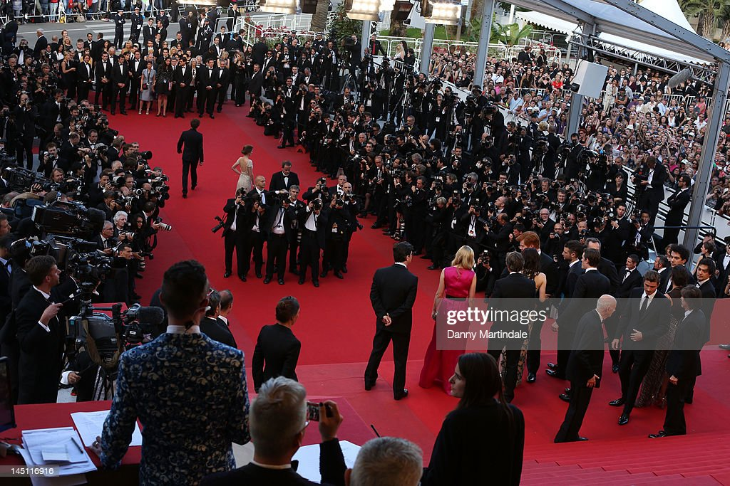 A general view of the 'On The Road' Premiere during the 65th Annual Cannes Film Festival at Palais des Festivals on May 23, 2012 in Cannes, France.