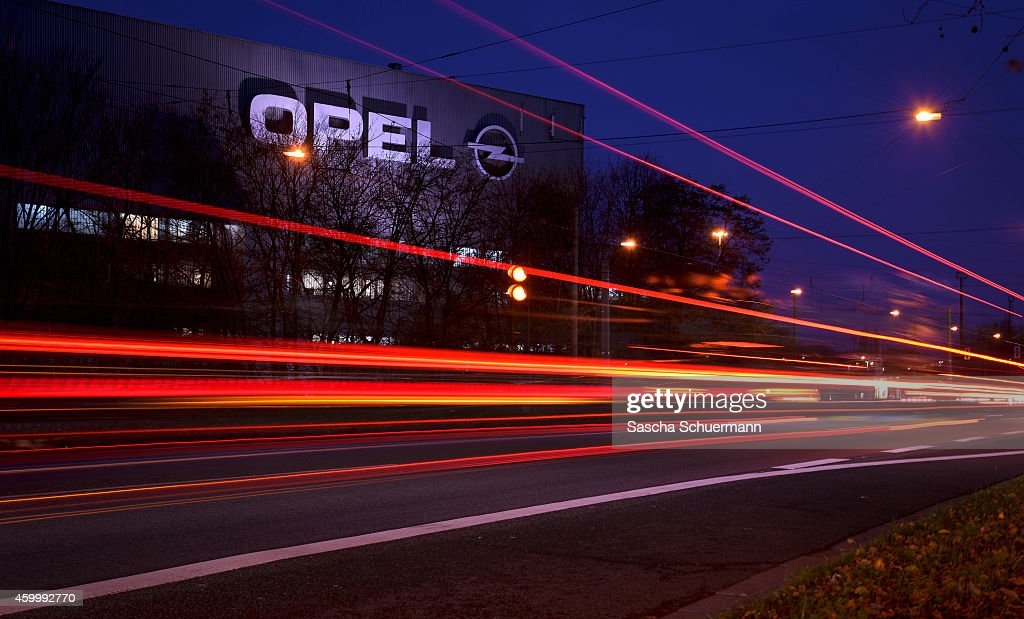 A general view of the Opel factory one on December 5 2014 in Bochum Germany Opel which is a subsidiary of General Motors is closing the factory and...