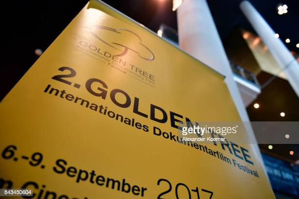 General view of the opening of the Golden Tree International Documentary Film Festival at CineStar Metropolis on September 6 2017 in Frankfurt am...