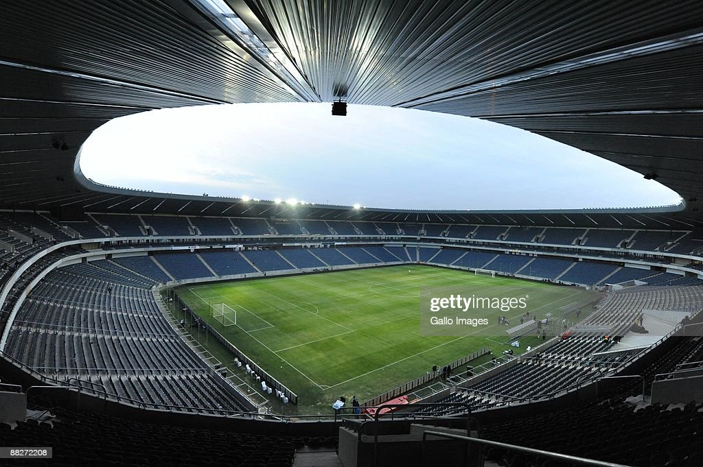 General view of the Orlando Stadium on June 6 2009 in Johannesburg South Africa