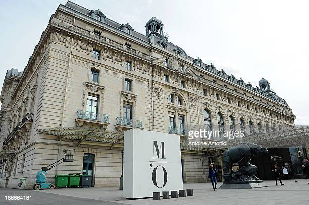 A general view of the Orsay Museum stands in Paris France