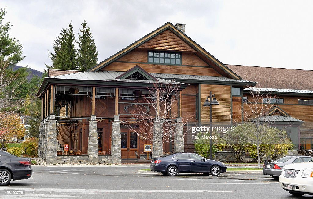 A general view of the Orvis Flagship Store and Rod Factory on October 31 2014 in Manchester Vermont