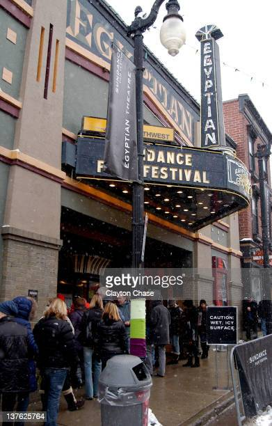 A general view of the outdoors during the 'Daughters of the Dust' screening and QA during the 2012 Sundance Film Festival held at Egyptian Theatre on...