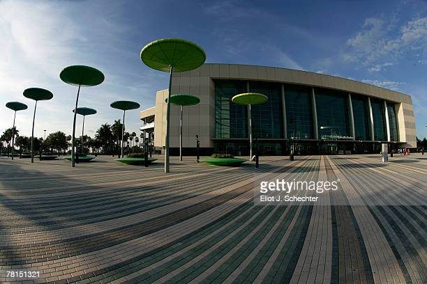 A general view of the outside of the BankAtlantic Center prior to the start of the Florida Panthers game against the Boston Bruins November 29 2007...