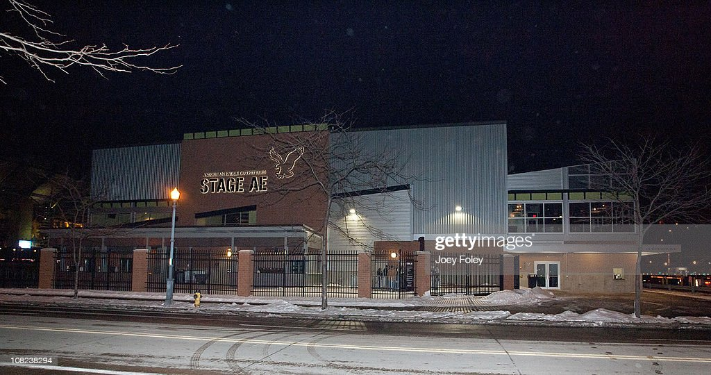 A general view of the outside of the new venue during the Steelers Playoff Party at Stage AE on January 14, 2011 in Pittsburgh, Pennsylvania.