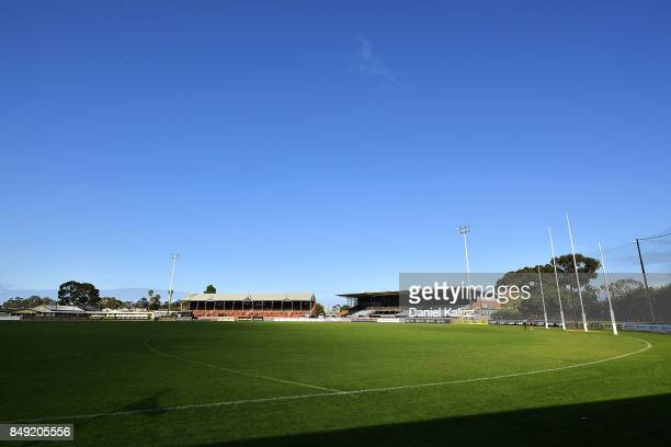 A general view of the Oval at Alberton Oval on September 19 2017 in Adelaide Australia