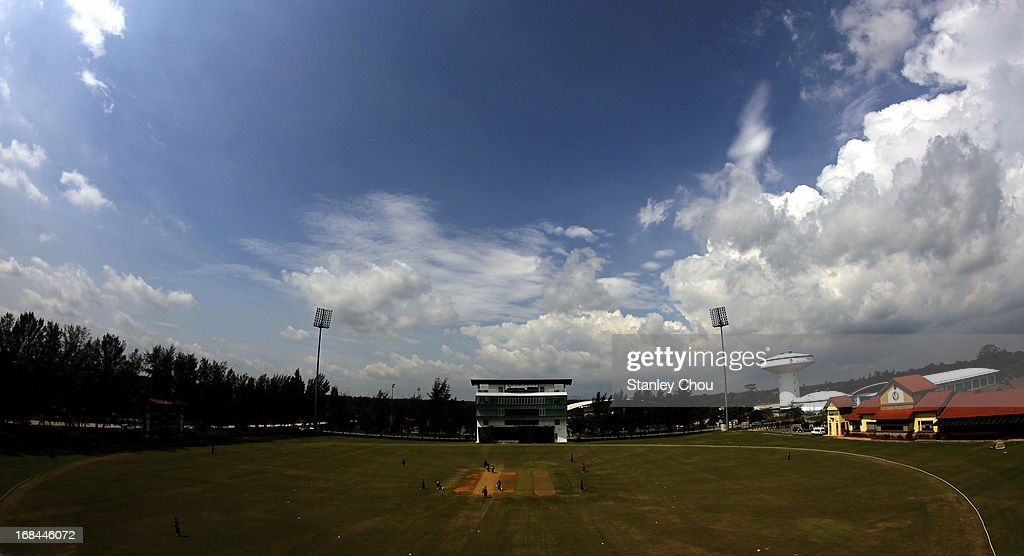 General view of the Oval during the ACC U-19 Elite Cup Semi Final against Nepal at the Bayuemas Oval on May 10, 2013 in Kuala Lumpur, Malaysia.