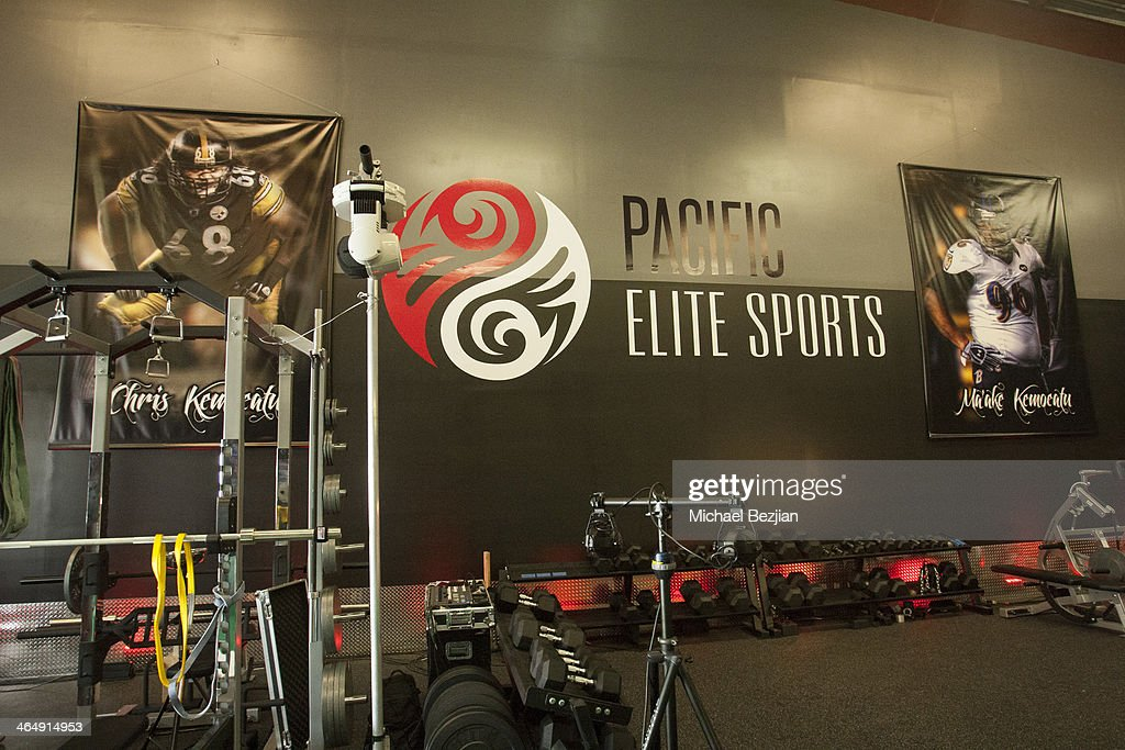 A general view of the Pacific Elite Sports Fitness Center Grand Opening on January 24 2014 in Kaneohe Hawaii
