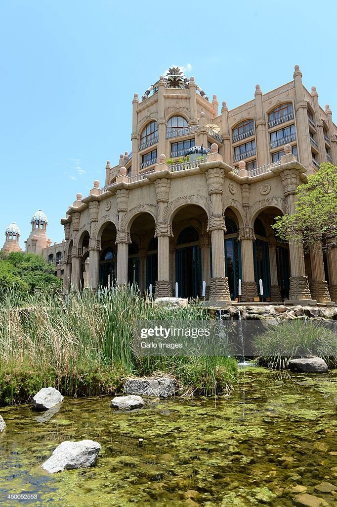 General view of The Palace Hotel ahead of the Gary Player Invitational presented by CocaCola at The Lost City Golf Course on November 14 2013 in Sun...
