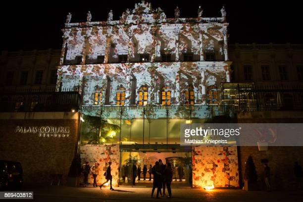 A general view of the Palais Coburg during the ERDEM x HM PreShopping Event on October 30 2017 in Vienna Austria
