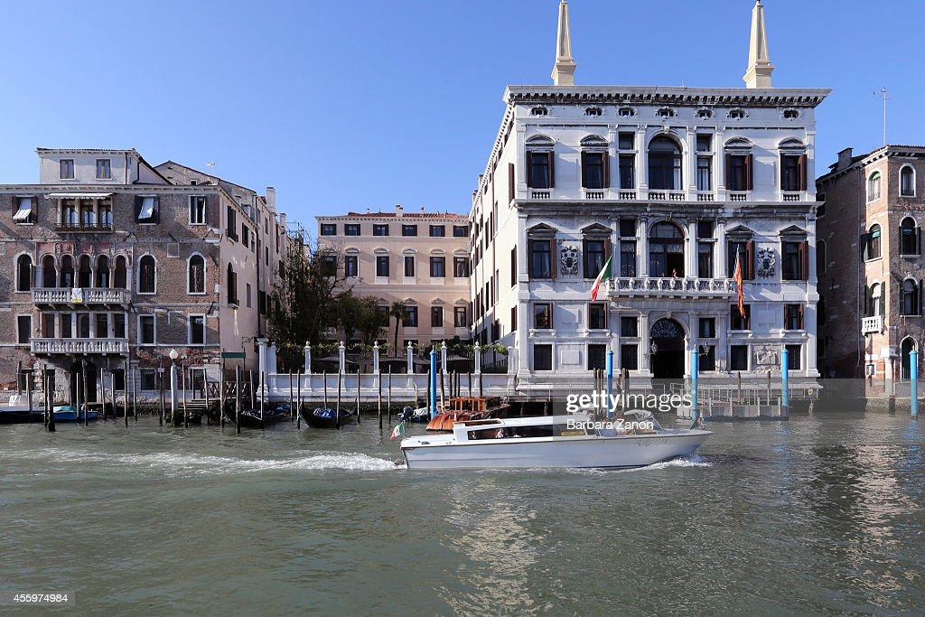 General view of the Palazzo Papadopoli, Aman Canal Grande Resort on September 23, 2014 in Venice, Italy. George Clooney is set to marry his lawyer fiancee Amal Alamuddin this weekend in Venice where they met after it was previously thought they would marry on Lake Como where the actor has a home.