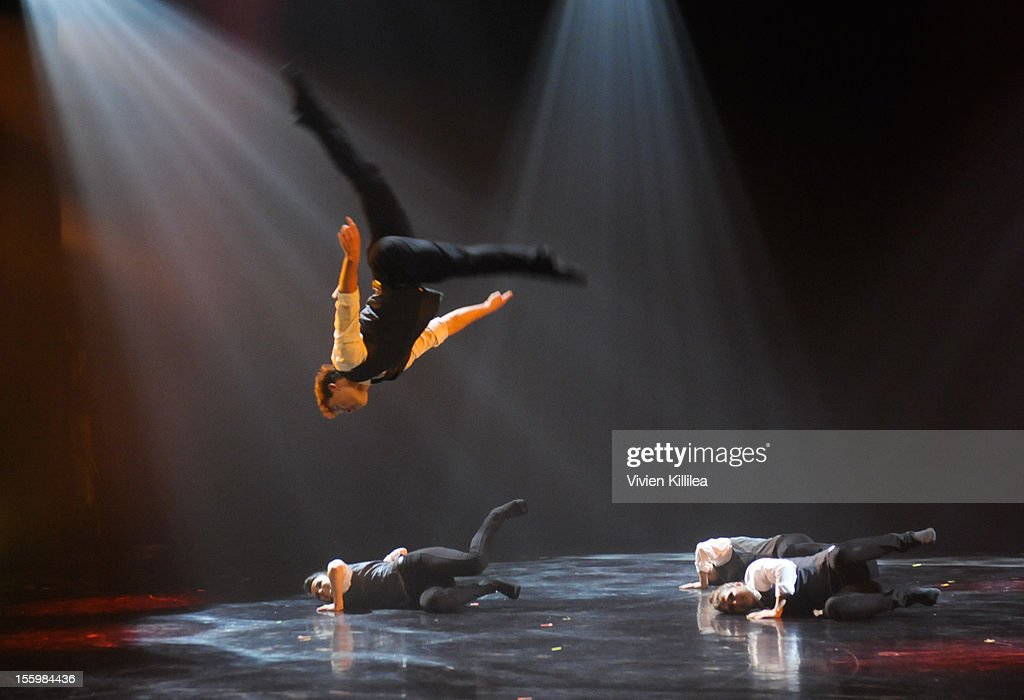 A general view of the performance at FOX's 'So You Think You Can Dance' Stacey Tookey Debuts 'Moments Defined' Dance Company at Nate Holden Theatre Center on November 9, 2012 in Los Angeles, California.