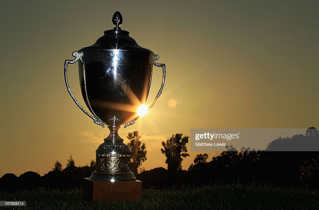 A general view of the PGA International Pro-Captain Challenge 2010 Grand Final Trophy during the PGA International Pro-Captain Challenge 2010 Grand Final at PGA Sultan Course, Antalya Golf Club on December 6, 2010 in Antalya, Turkey.