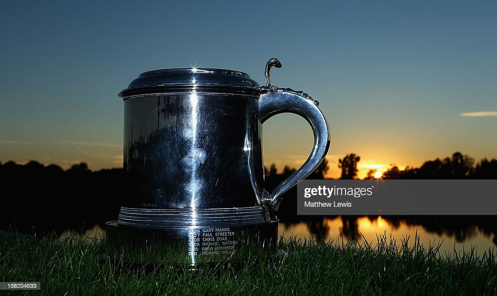 A general view of the PGA Play off trophy during the second day of the Titleist PGA Play-Offs at the PGA Sultan Course, Antalya Golf Club on December 11, 2012 in Antalya, Turkey.