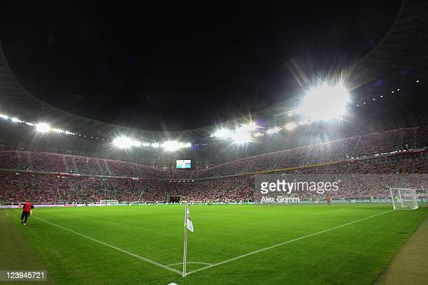 General view of the PGE Arena during the International friendly match between Poland and Germany on September 6 2011 in Gdansk Poland