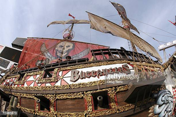 A general view of the pirate ship taken before the game between the Tampa Bay Buccaneers and the New Orleans Saints on November 5 2006 at Raymond...