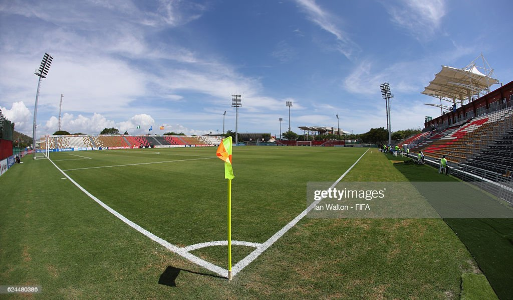 General view of the PNG Football Stadium befoe the FIFA U-20 Women's World Cup, Group B match between Nigeria and Spain at PNG Football Stadium on November 20, 2016 in Port Moresby, Papua New Guinea.