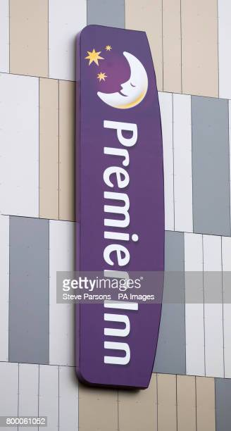 A general view of the Premier Inn hotel in Maidenhead Berkshire as the hotel chain has quotconcernsquot that cladding used on some of its buildings...