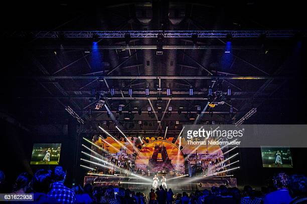 General view of the premiere show of the DJ Bobo 'Mystorial' Tour 2017 at Europapark on January 13 2017 in Rust Germany