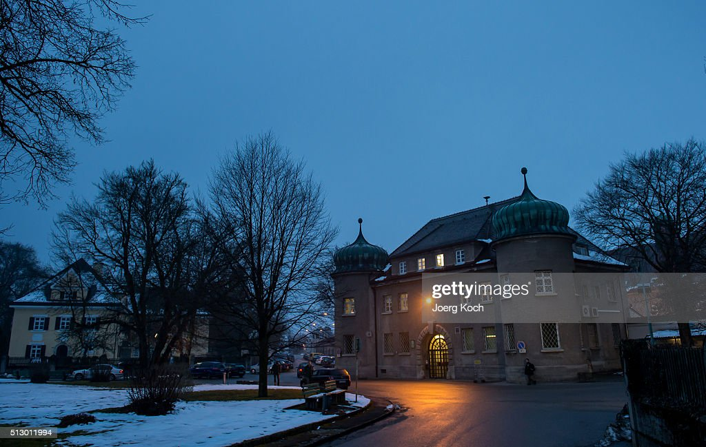 General view of the prison 'JustizVollzugsanstalt Landsberg' on February 29 2016 in Landsberg am Lech Germany The former president of Germany's top...