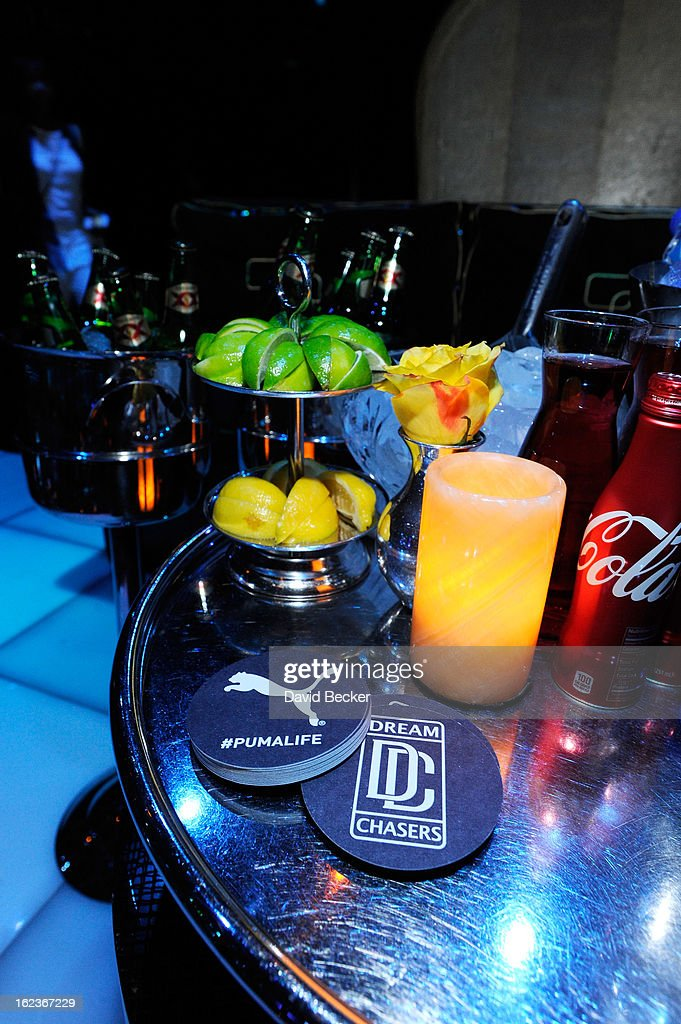 A general view of the Puma party is seen at The Bank Nightclub at the Bellagio on February 19, 2013 in Las Vegas, Nevada.